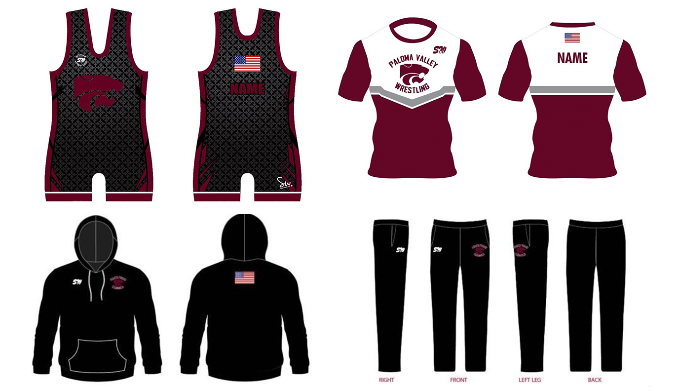 Paloma Valley Boys Gear Package Late Order